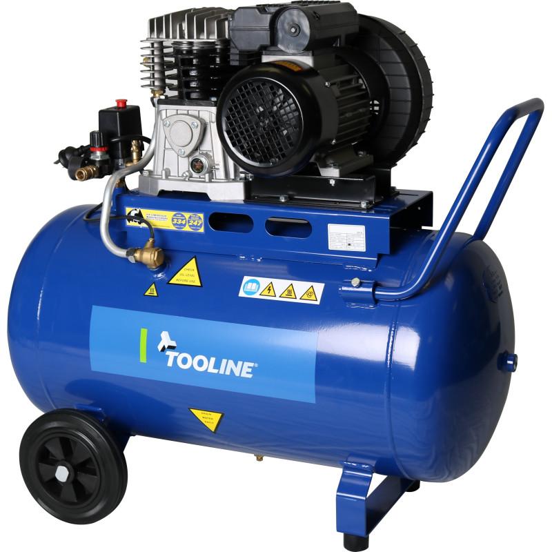 Tooline CCS100/360 100L Belt Drive Compressor