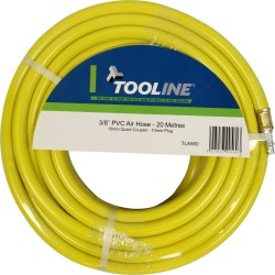 Tooline PVC 20m Air Hose With Fittings