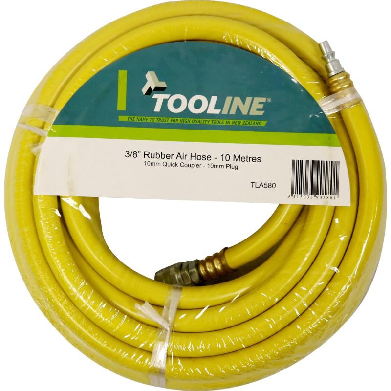 Tooline 10m Rubber Air Hose