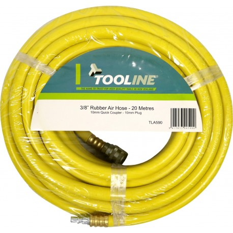 Tooline 20m Rubber Air Hose