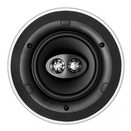 "KEF Ultra Thin Bezel 6.5"" Dual Stereo Round In-Ceiling Speaker"
