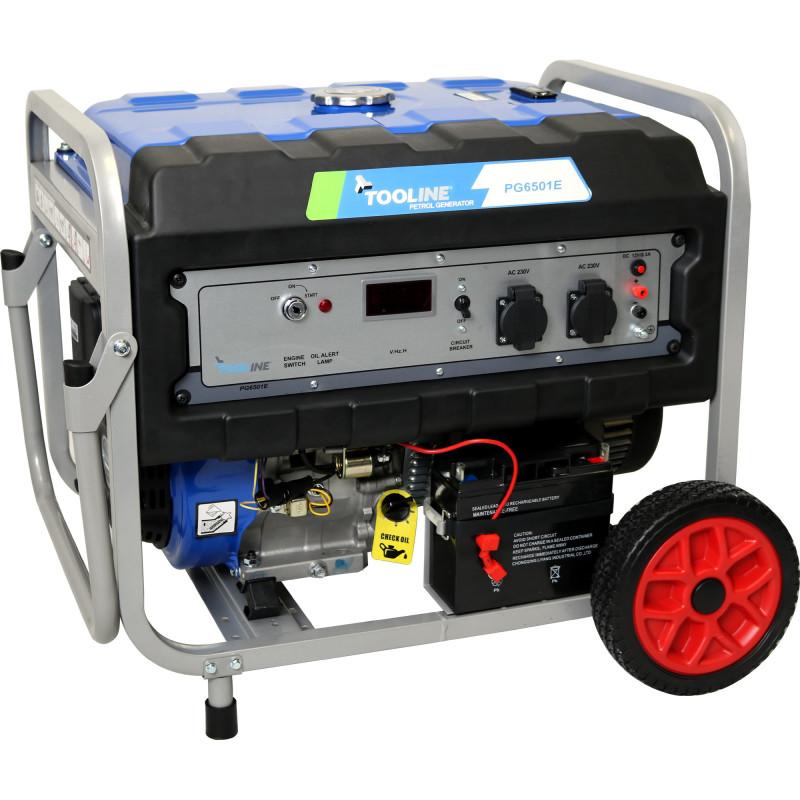 Tooline PG6501E 6.5KW Petrol Generator