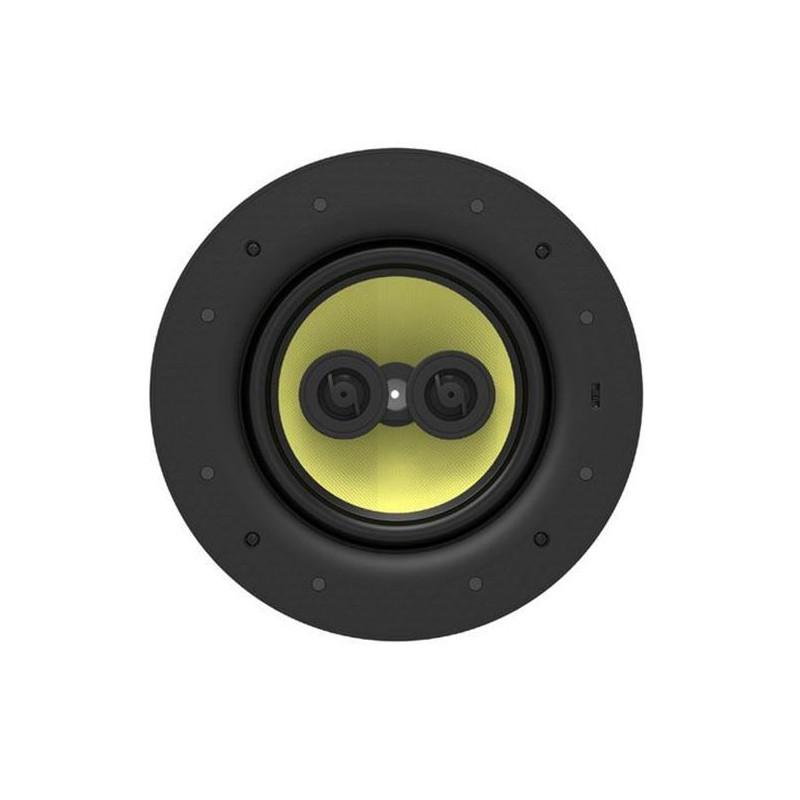 LUMI AUDIO 8' 3-Way Stereo Frameless Ceiling Speaker. RMS 80W.