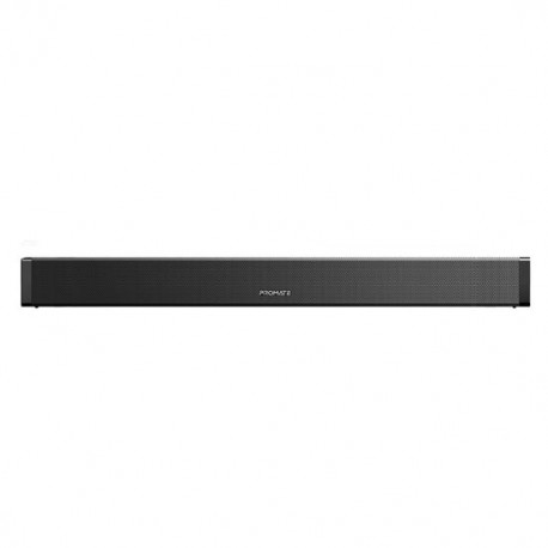 PROMATE Wireless 40W Bluetooth SoundBar. USB/AUX/Optical/HDMI