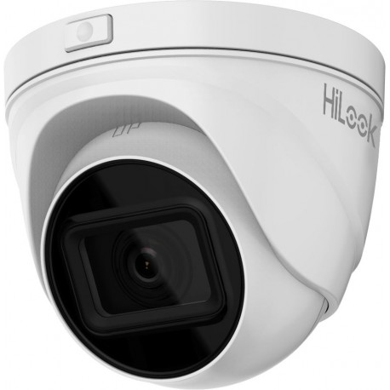 HILOOK 5MP IP Motorized Varifocal Turret PoE Camera with 2.8-12mm