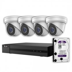 HILOOK 5MP IP 8-Channel Surveillance Camera Kit with 3TB