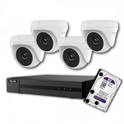 HILOOK 2MP Analogue Surveillance Camera Kit with 1TB HDD DVR