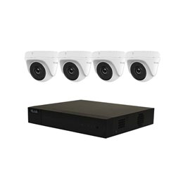 HILOOK 4MP 4 Channel DVR Analogue Surveillance System with 1TB HDD.