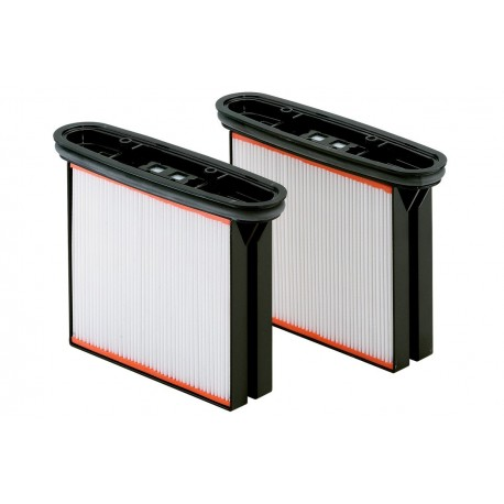 2 Polyester filter cassettes