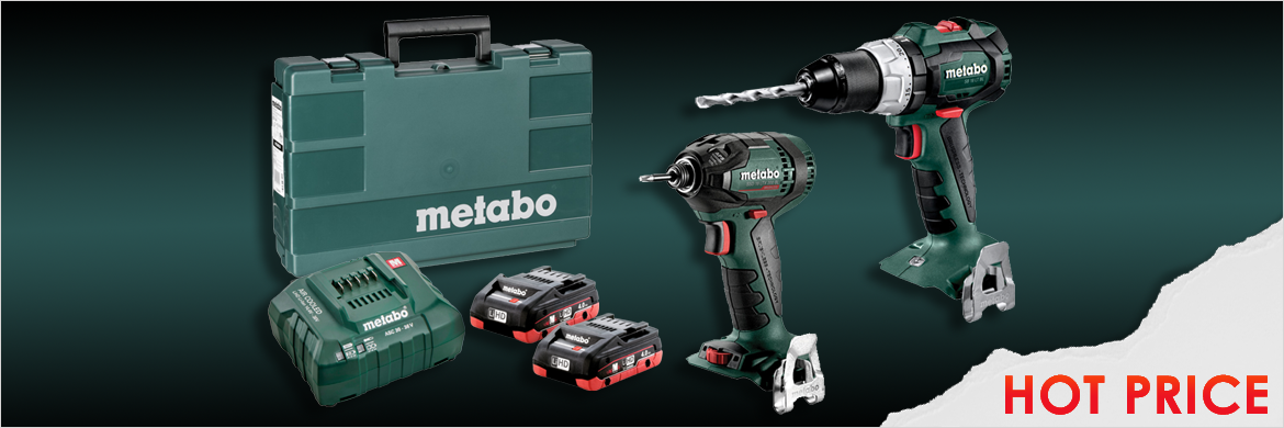 Hot Price on Metabo Drill / Driver Combo