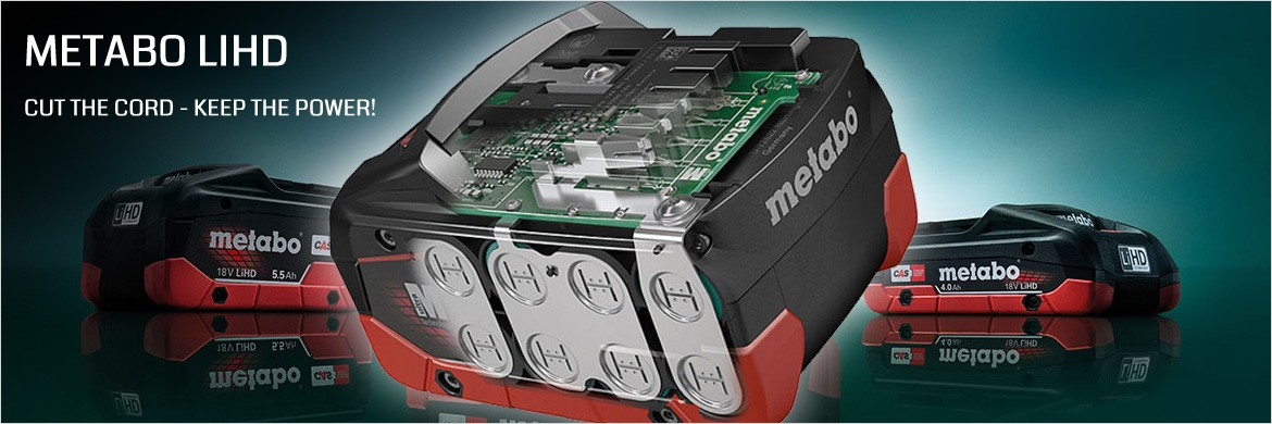 Metabo LiHD Battery Technology
